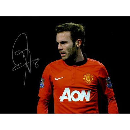 Juan Mata Halloween (Juan Mata Manchester United Autographed 12