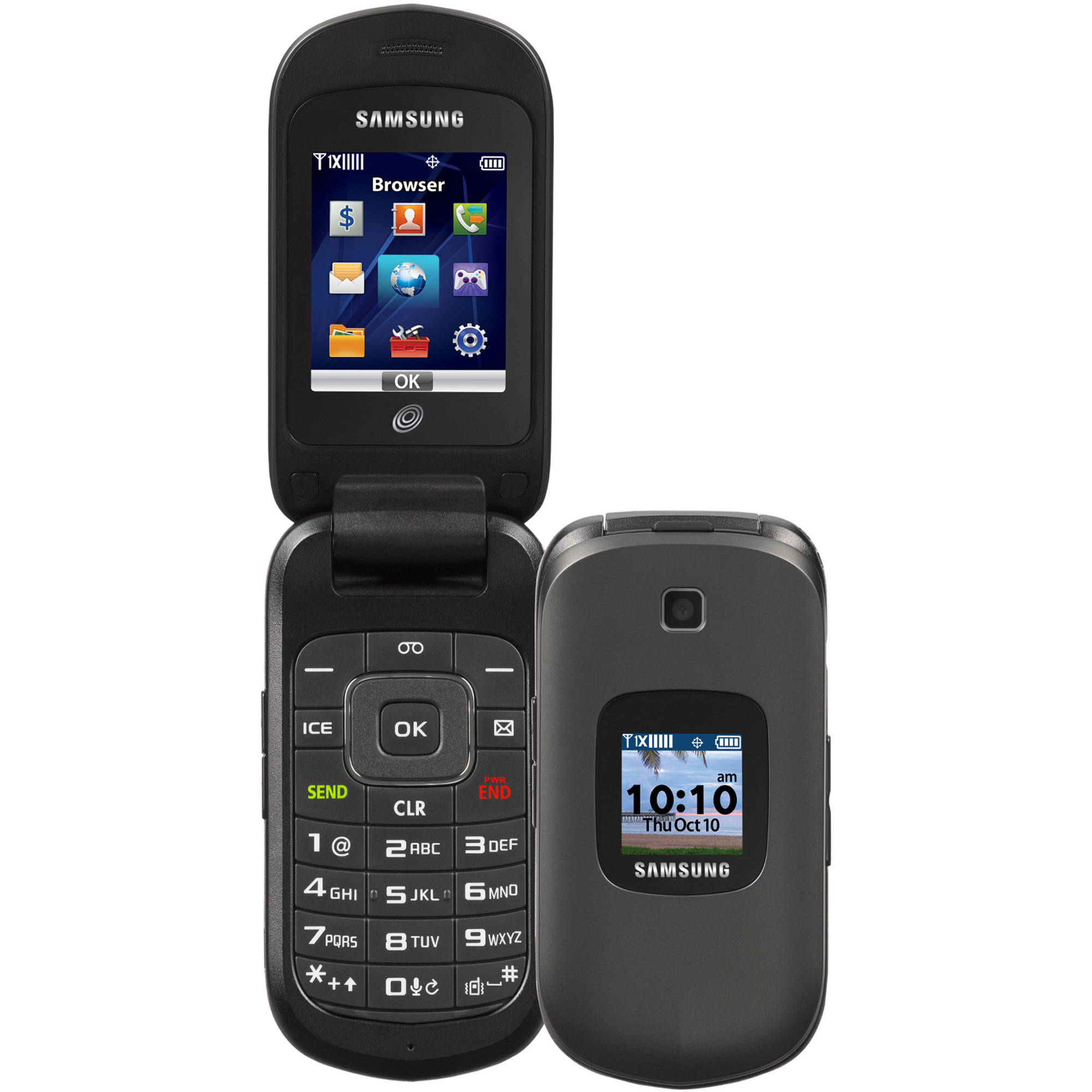 Straight Talk Samsung S336C Prepaid Cell Phone