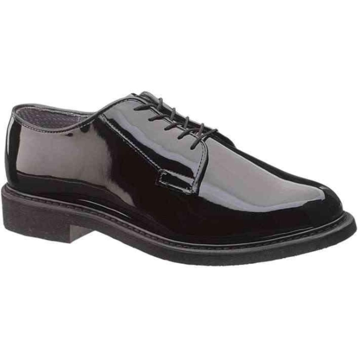 Bates High Gloss Oxford Lites Duty Dress Shoe, Black, Mod...