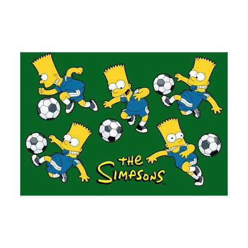 Fun Rugs The Simpsons Soccer Fun Kids Rug