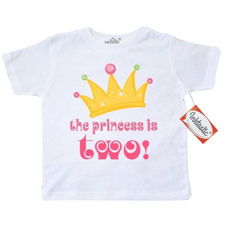 2nd Birthday Princess Crown Cute Girls Toddler - Christmas Gifts 8 Yr Old Girl