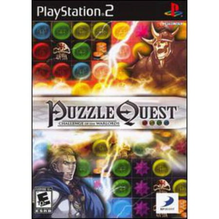Puzzle Quest Challenge of the Warlords - Playstation 2(Refurbished)