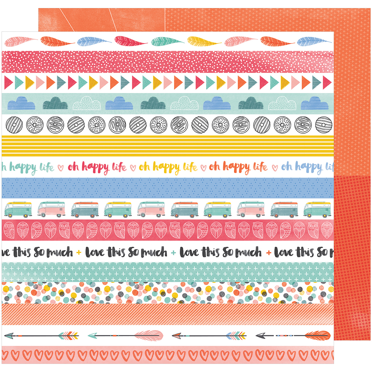 American Crafts Daybook 4-1/2 Inch X 6-1/2 Inch-Noteworthy