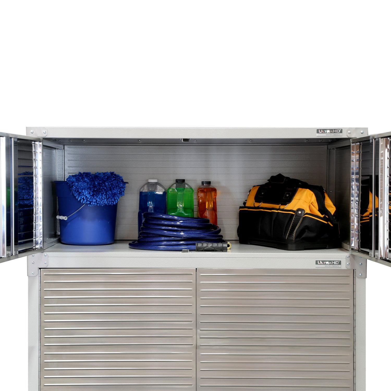 Seville Classics Heavy Duty UltraHD Storage Stacker Cabinet for UHD16238B