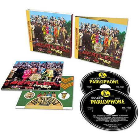 Sgt. Pepper's Lonely Hearts Club Band (CD) (Sgt Peppers Lonely Hearts Club Band Super Deluxe)