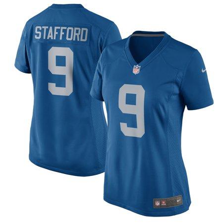 Matthew Stafford Detroit Lions Nike Women's 2017 Throwback Game Jersey - Blue