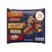 Hershey Halloween Snack Size Assortment, 70 Pieces