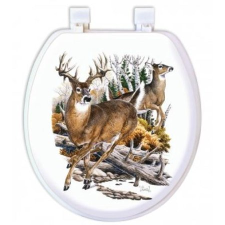 Strange Upc 047968619103 Ginsey Home Solutions Deer Soft Toilet Gmtry Best Dining Table And Chair Ideas Images Gmtryco