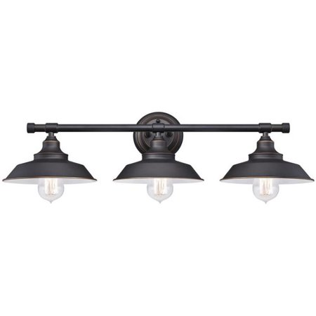 Westinghouse Lighting Iron Hill 3 Light Wall Fixture