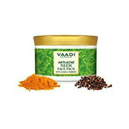 Vaadi Herbals Anti Acne Neem Face Pack, Clove and Turmeric, 600g
