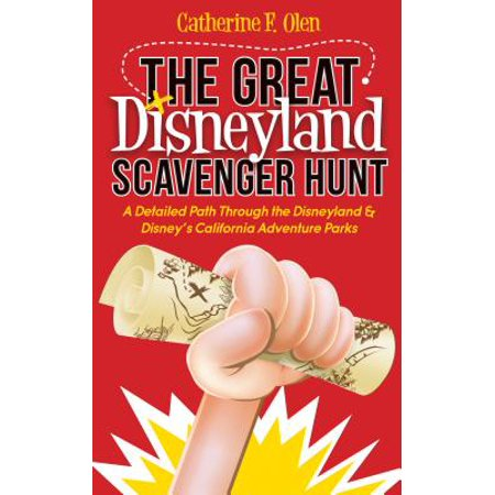 The great disneyland scavenger hunt (paperback): - Easter Scavenger Hunt