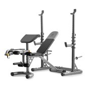 Best Fitness Olympic Folding Benches - Gold's Gym XRS 20 Olympic Workout Bench Review