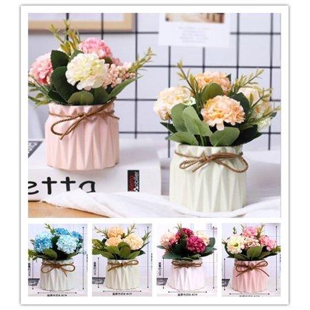 Classic European Style Hydrangea Artificial Silk Flowers Wedding