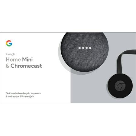 Google Home Mini and Chromecast Bundle