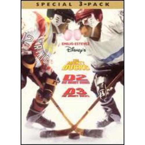 MIGHTY DUCKS-BOX SET (3) (DVD)