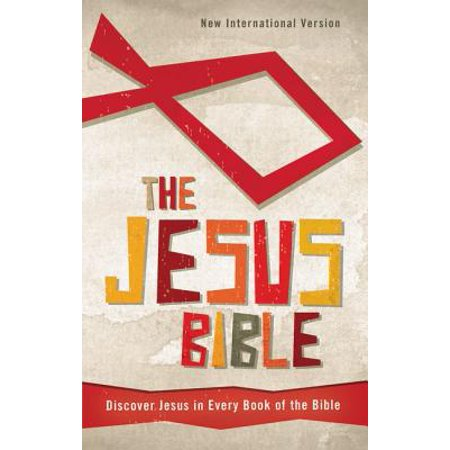 Jesus Bible-NIV : Discover Jesus in Every Book of the Bible