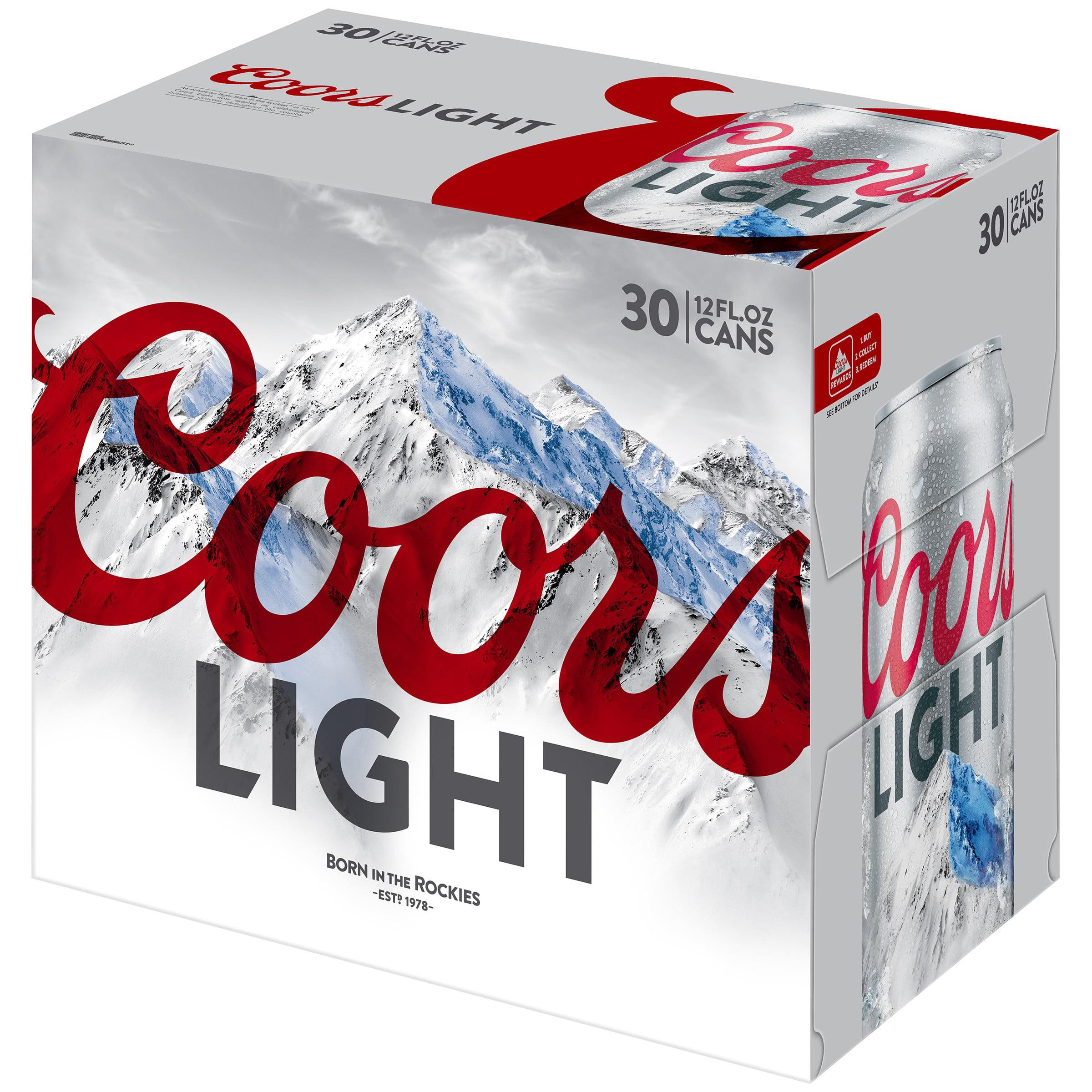 Coors Light Beer 30 ...