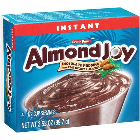 Image of Almond Joy Instant Pudding Mix, 3.52 oz