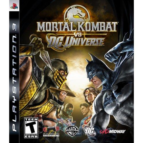 Mortal Kombat vs. DC Universe (Playstation 3) by Midway