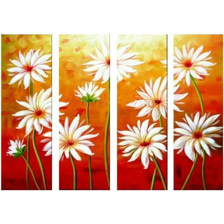 Virtue of the Daisy Canvas Wall Art - A - H 30 x W 40 - image 1 de 1