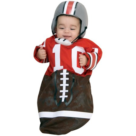 Newborn Football Bunting, Newborn Ages 0-9 months)](Football Infant Costume)