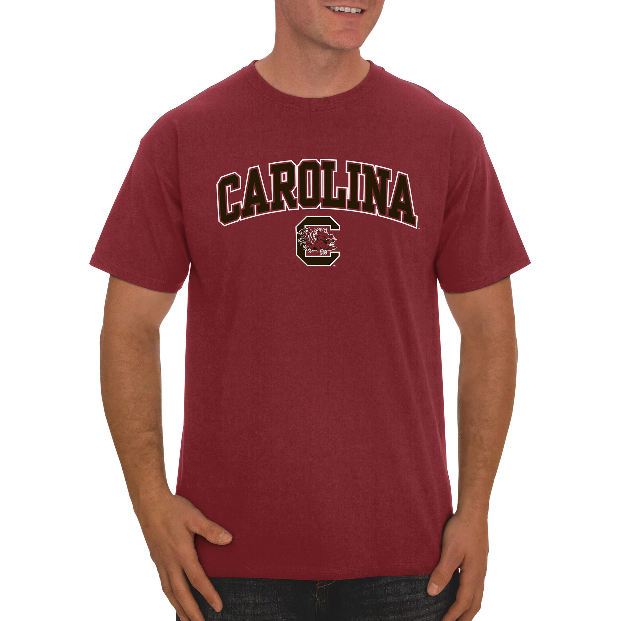 Russell NCAA South Carolina Gamecocks, Men's Classic Cotton T-Shirt