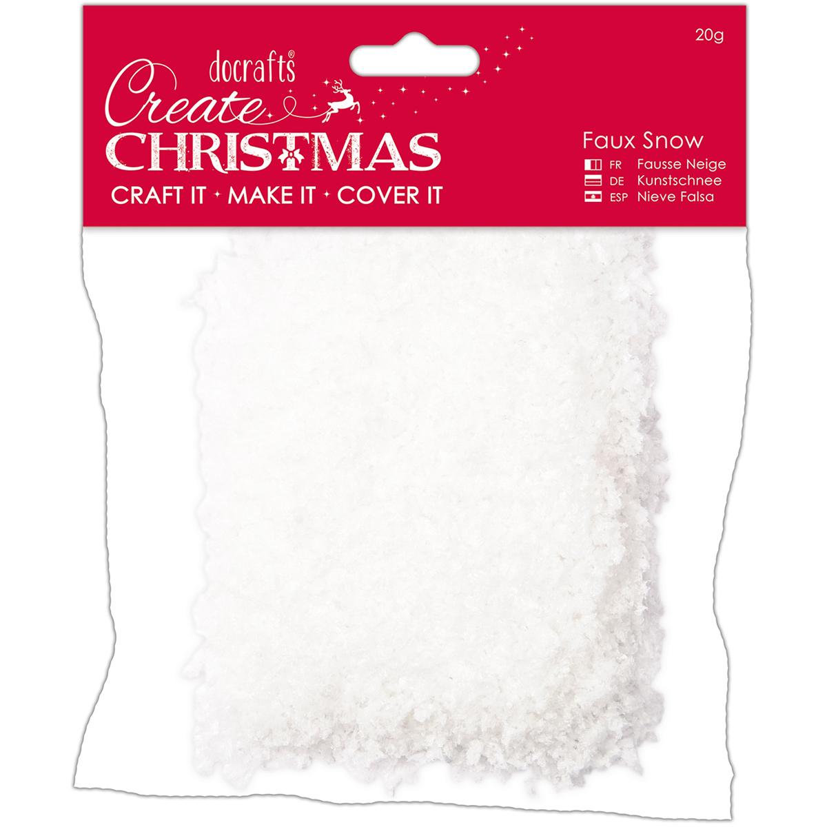 Papermania Create Christmas Faux Snow 20g-