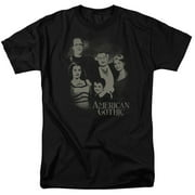 The Munsters American Gothic Mens Short Sleeve Shirt
