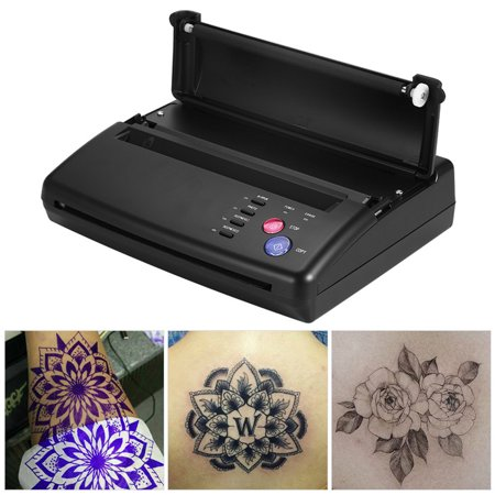 Tattoo Transfer Copier,Professional A5 A4 Tattoo Transfer Copier Thermal Stencil Paper Printer Machine