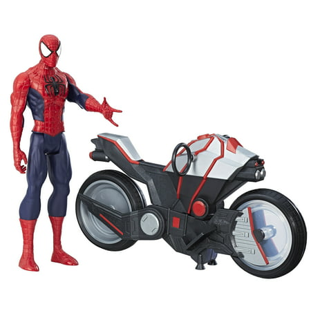 Ram Man Figure (Marvel Spider-Man Titan Hero Series Spider-Man Figure with Spider)