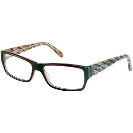4148922b8 Elizabeth Arden Women's Prescription Glasses, EA 1100A -- Burgundy -  Walmart.com