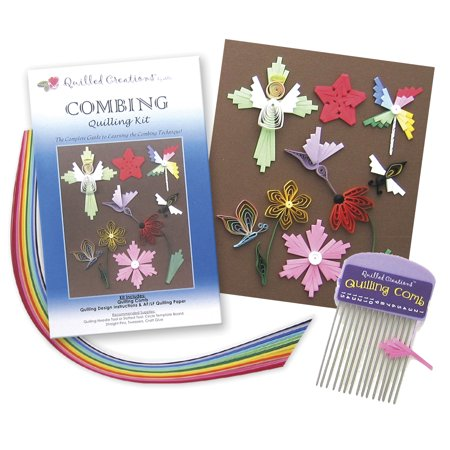 Quilled Creations Quilling Kit  Combing