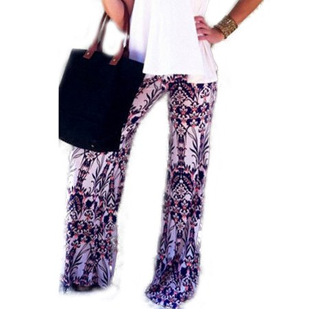 Boho Women's Baggy Harem Hippie Wide Leg Gypsy Yoga Palazzo Pants