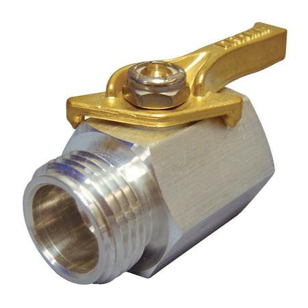 22373 Aluminum Shut-Off Valve, Dramm brass shut-off? valve is a professional quality full flow valve By Dramm