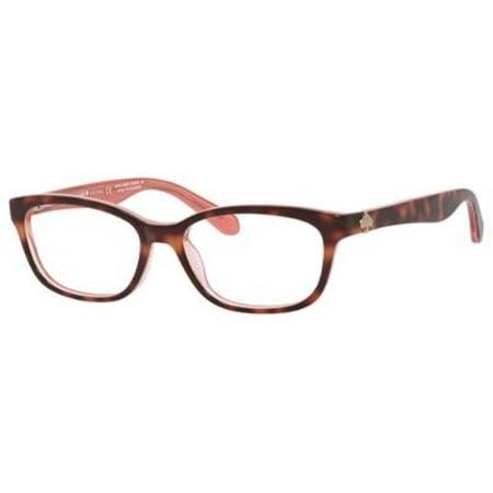 KATE SPADE Eyeglasses BRYLIE 0QTQ Havana Pink 48MM