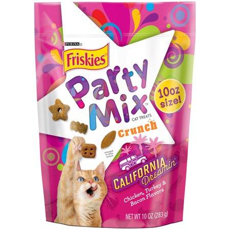 Purina Friskies Party Mix California Dreamin  10 Oz