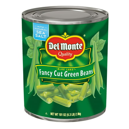 Product of Del Monte Blue Lake Fancy Cut Green Beans, 101 oz. [Biz Discount]