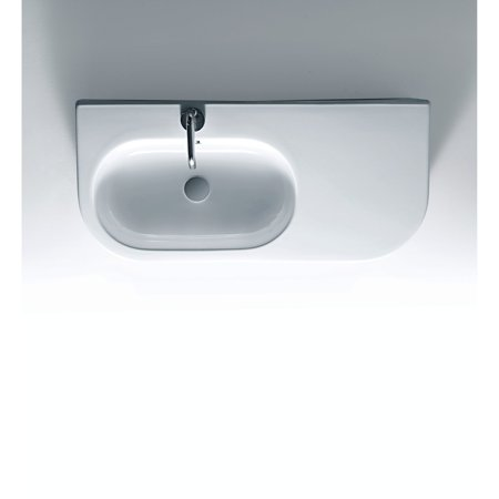 0.75 Bath Sink - WS Bath Collections Flo 3144 Wall Mount Bathroom Sink