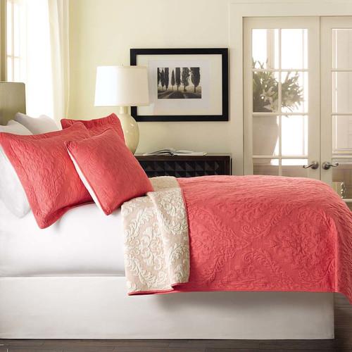 Tache Home Fashion Luxembourg 3 Piece Reversible Bedspread Set