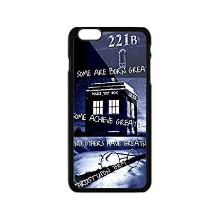 Ganma Doctor Who Tardis Police call box Rubber Case For iPhone X, 10 ( 5.8 inch)