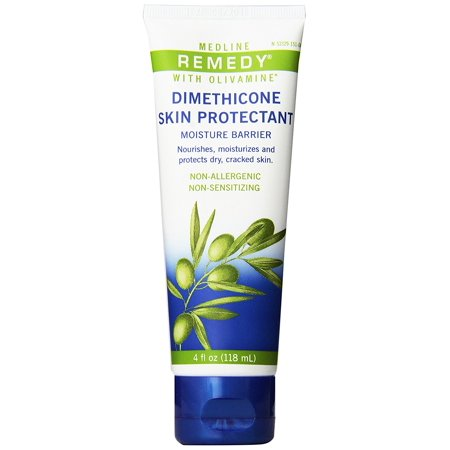 Remedy Olivamine Dimethicone Skin Protectant, These Cream provides a breathable barrier that protects against moisture By Medline