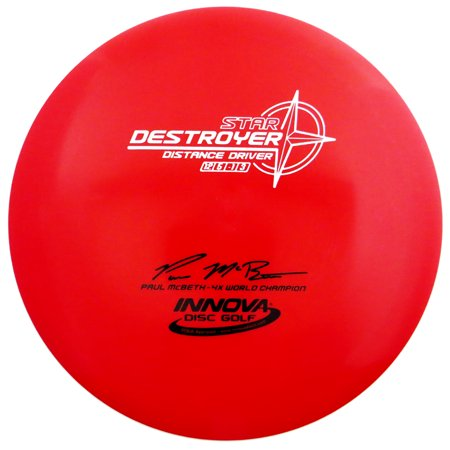 Innova Star Destroyer 165-169g Distance Driver Golf Disc [Colors may vary] - 165-169g