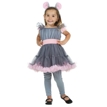 Toddler Girl's Mouse Costume - Moses Costumes