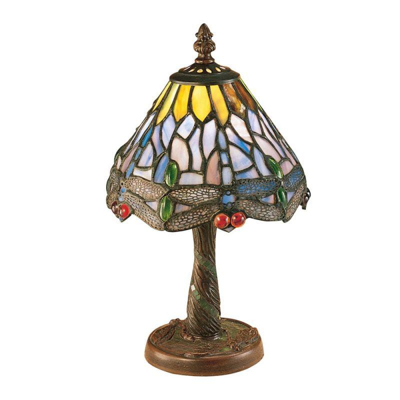 Meyda Tiffany 26597 Dragonfly Mini Desk Lamp, Mahogany Bronze 26616 Dragonfly Mini Table Desk Lamp, Mahogany Bronze by Meyda Tiffany