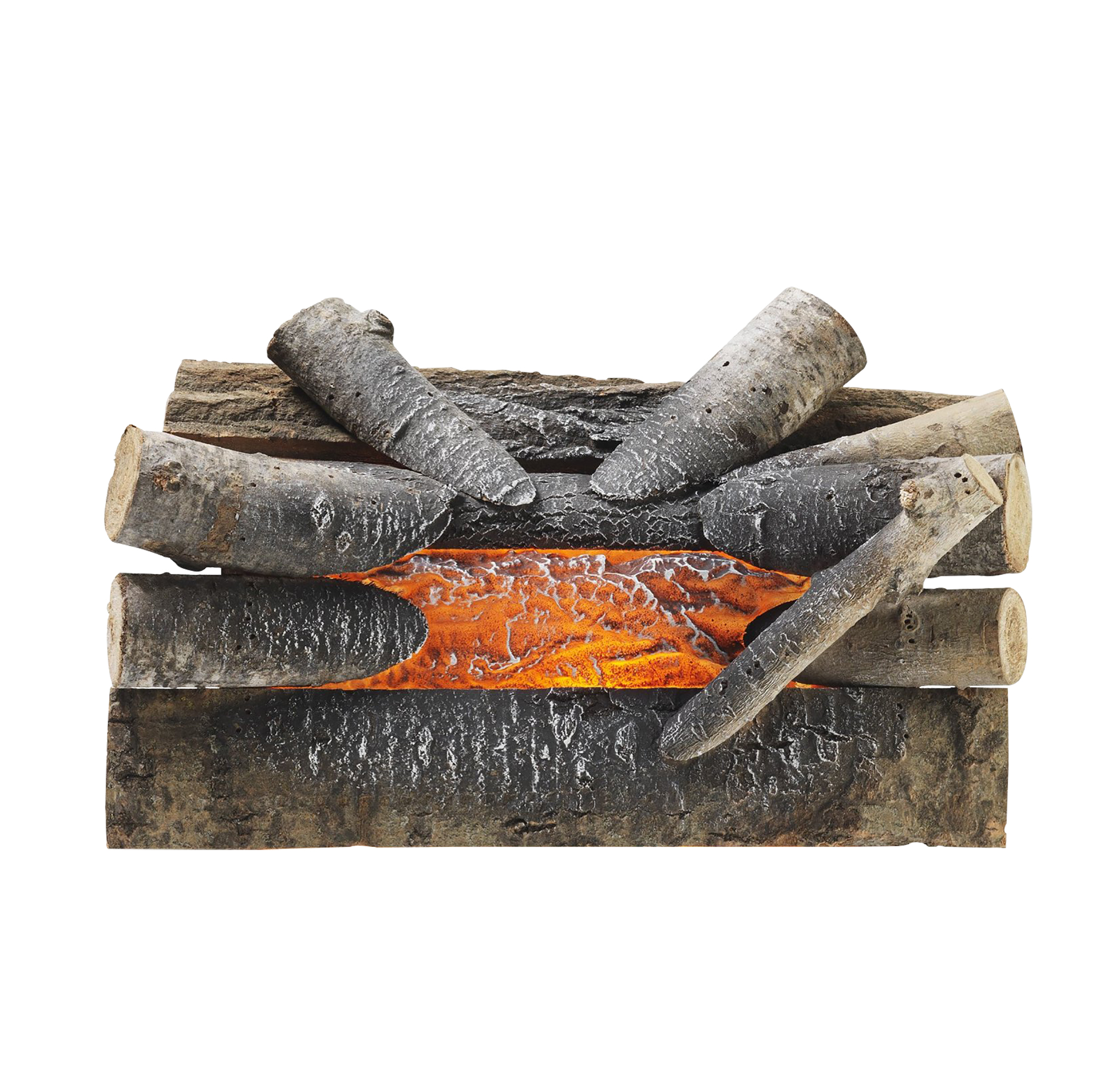 Pleasant Hearth L 20w Electric Crackling Log Walmart Com