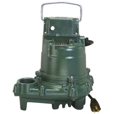 Zoeller 53-0002 Mighty Mate 1/3 HP Manual Submersible Sump Pump (Zoeller Submersible Pumps)