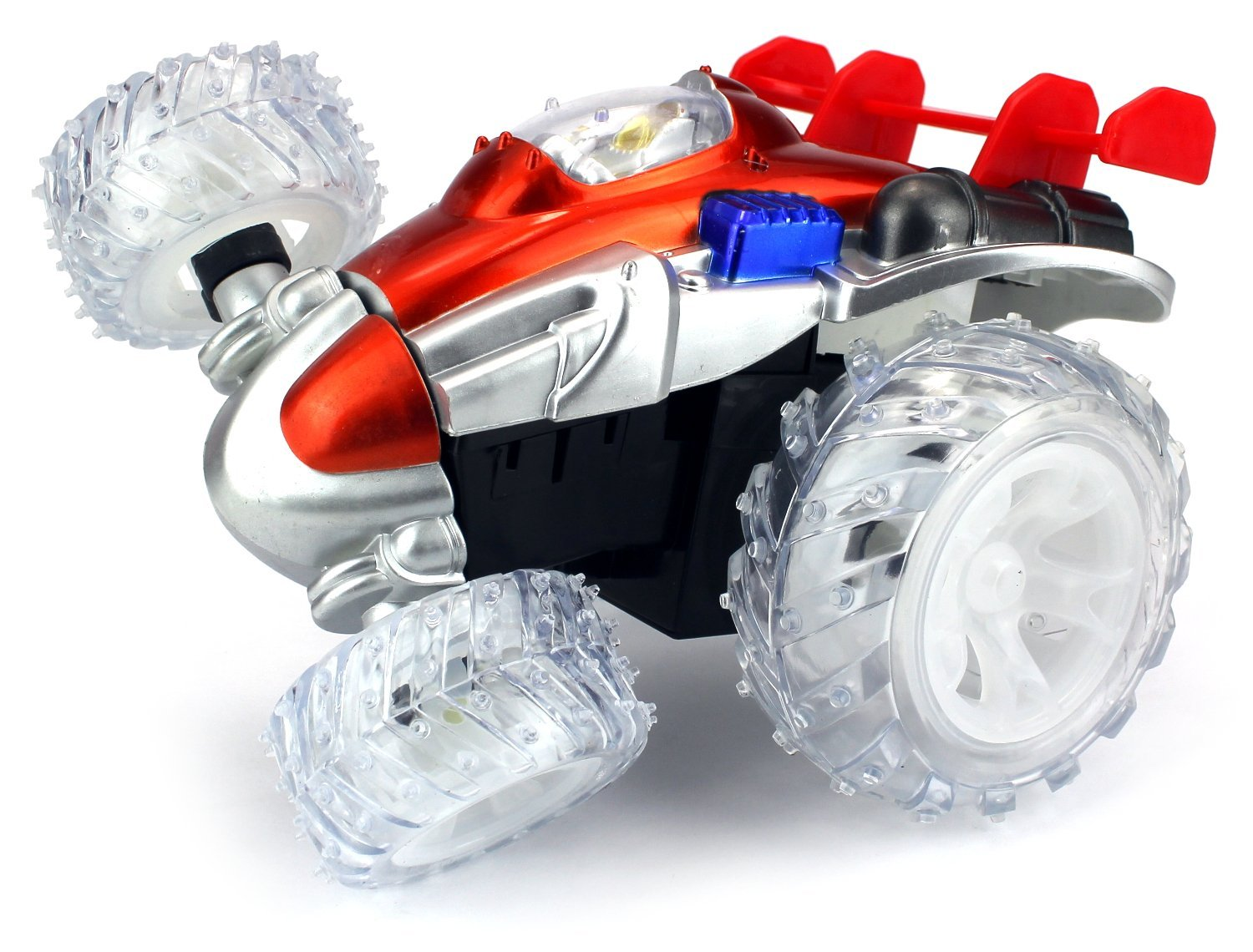 VT Stunt Rocket Remote Control RC Stunt Rolling Car Ready To Run RTR w  360 Degree... by Velocity Toys