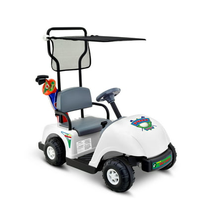 Kid Motorz Junior Pro Golf Cart 6-Volt Battery-Powered Ride-On](crazy cart cheapest price)
