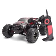 2.4Ghz 1:12 2WD 35 RC Cars Rock Off-Road + MPH High Speed Remote Controll Fast Race Buggy Hobby Car For Children Gift,Red