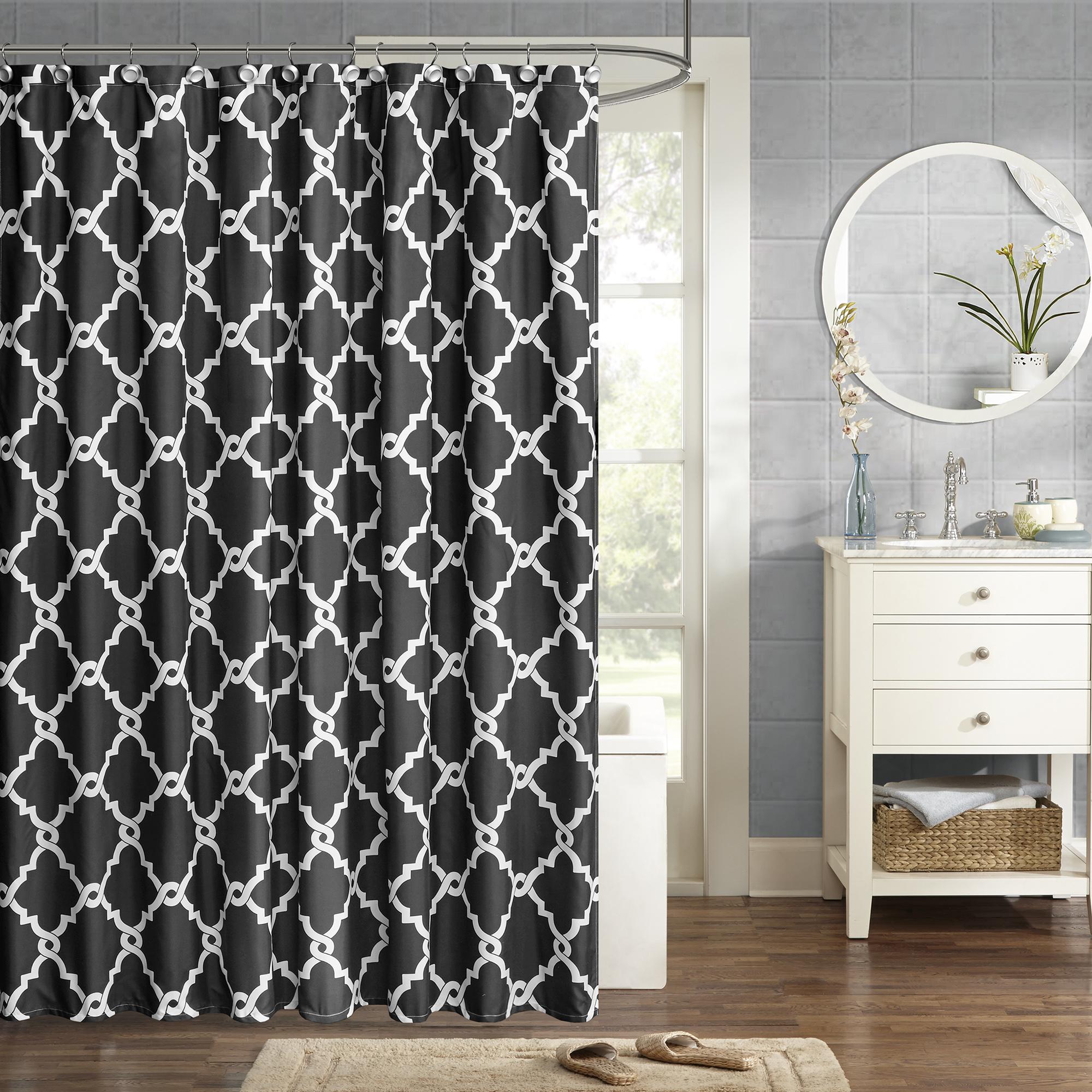 Home Essence Becker Ultra Soft Printed Shower Curtain